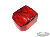 Taillight old model glass red replica