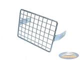 Headlight grill square chrome