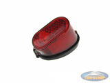 Taillight Tomos 2L / 3L / 4L / universal with thick ruber