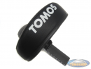 Saddle Tomos A3 / A35 black with text (not E-start)